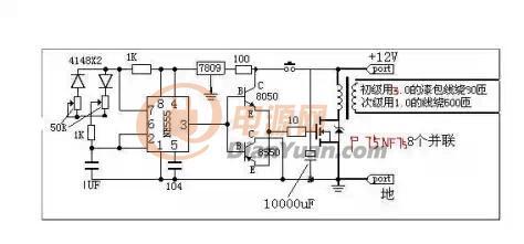 电路图_可控硅逆变器电路图_逆变器驱动电路图