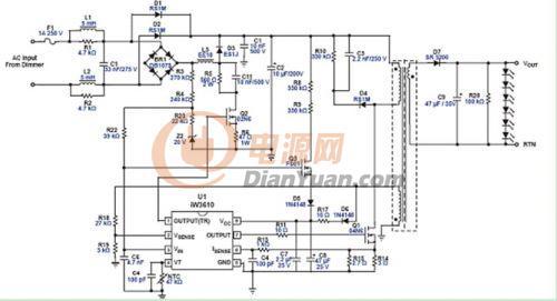 电源电路图图片大全 7805稳压电源电路图图片