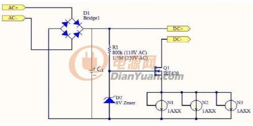 恒流二极管及其在驱动led中的应用