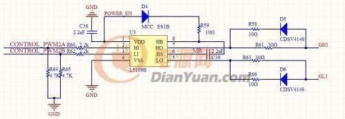 h桥中mos管门级和源级接的电阻作用是什么?